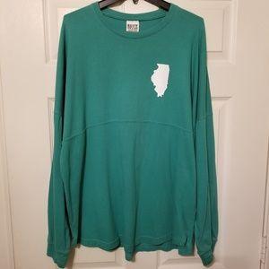 Royce Brand State Shirt Illinois long sleeve 2XL
